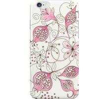 Pomegranate Garden iPhone Case/Skin