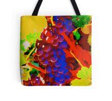 Artistic Grape Vine Tote Bag