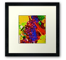 Artistic Grape Vine Framed Print