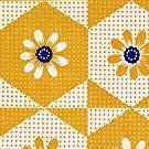 Retro 70's Flowers by BettyBanana