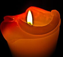 Flame melts the heart by Lyndy