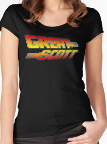 Great Scott! Women's Fitted Scoop T-Shirt
