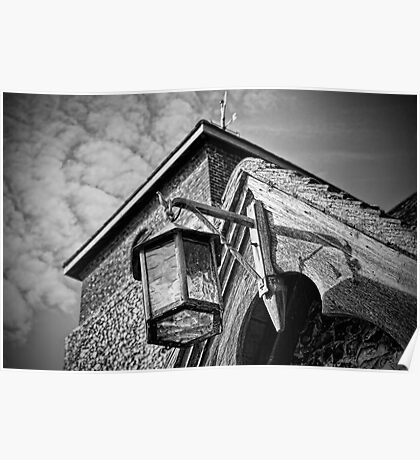 Porch Light - St Peter's Church, Molash Poster