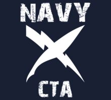 US Navy CTA Insignia - White by courson