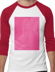 Pink Female Aspects Men's Baseball ¾ T-Shirt