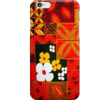 Aloha in Red iPhone Case/Skin