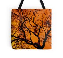 Scorched Tree Tote Bag