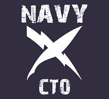 US Navy CTO Insignia - White Unisex T-Shirt