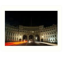 Admiralty Arch between Trafalgar Square and The Mall, London Art Print