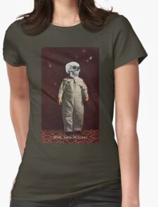 Who Says I'm Scart? (Vintage Halloween Card) T-Shirt