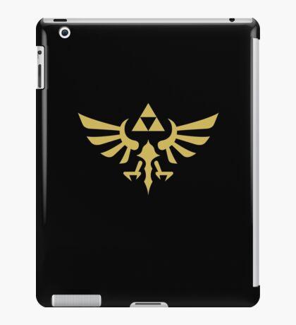 The Legend of Zelda Royal Crest (gold) iPad Case/Skin