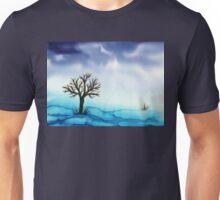 Landscape in Blue  Unisex T-Shirt