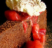 Flourless Chocolate Cake by Tracy Friesen