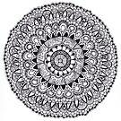 Lace Mandala Tangle by Vickie Simons