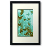 Water Butterflies Framed Print