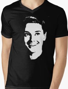 audrey hepburn Mens V-Neck T-Shirt