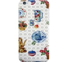 Vintage Dutch Kitchen iPhone Case/Skin
