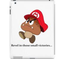 Goomba victory!! iPad Case/Skin