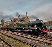 46100 Royal Scot at Highley Station by © Steve H Clark Photography