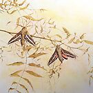 Hawkmoths by Llynfian