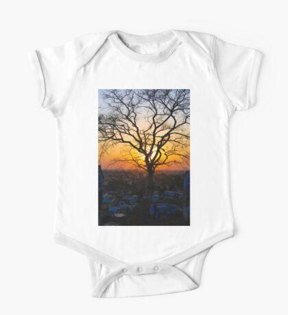A Sunset & A Tree One Piece - Short Sleeve