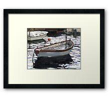 Portofino Anchorage Framed Print