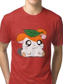 Hamtaro with Leaf Tri-blend T-Shirt