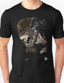 Alien Xenomorph Shadow Tee T-Shirt