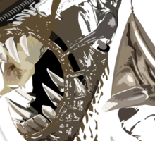 Alien Xenomorph Shadow Tee Sticker