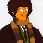 Doctor Who - Tom Baker  by Donna Huntriss