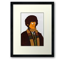 Doctor Who - Tom Baker  Framed Print