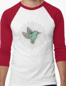 Humming Bird Men's Baseball ¾ T-Shirt