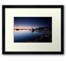 Battery Point Sunrise Framed Print