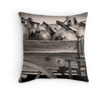 Pottery Wagon Throw Pillow