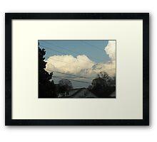 Superstorm's 3 Framed Print