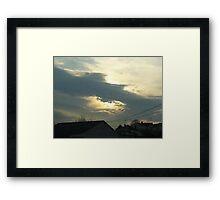 Superstorm's 6 Framed Print