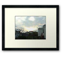 Superstorm's 17 Framed Print