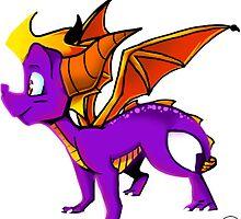 Hello Spyro! by VanillaGrin