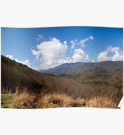 Boyd Gap Overlook, Cherokee National Forest Poster