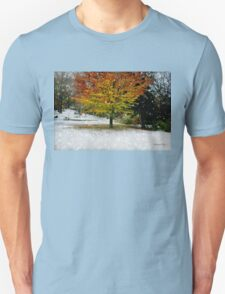 Beech Tree ~ Caught in a Snow Flurry T-Shirt