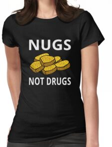 Nugs Not Drugs Womens Fitted T-Shirt