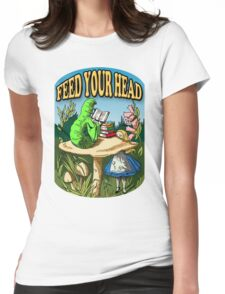 Feed Your Head Womens Fitted T-Shirt