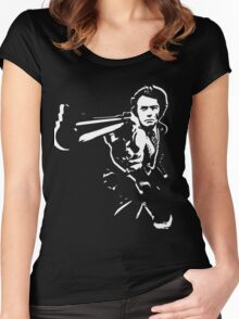 dirty harry t-shirt Women's Fitted Scoop T-Shirt