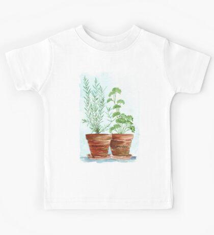 Rosemary and Parsley - Botanical Kids Tee