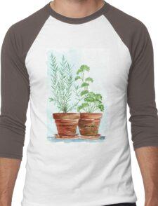 Rosemary and Parsley - Botanical Men's Baseball ¾ T-Shirt