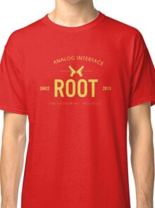 Person of Interest - Root - Black Classic T-Shirt