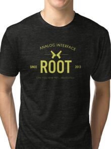 Person of Interest - Root - Black Tri-blend T-Shirt