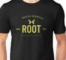 Person of Interest - Root - Black Unisex T-Shirt