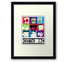 Zim & Friends Framed Print
