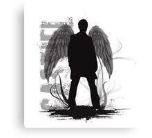 Castiel the Angel Canvas Print